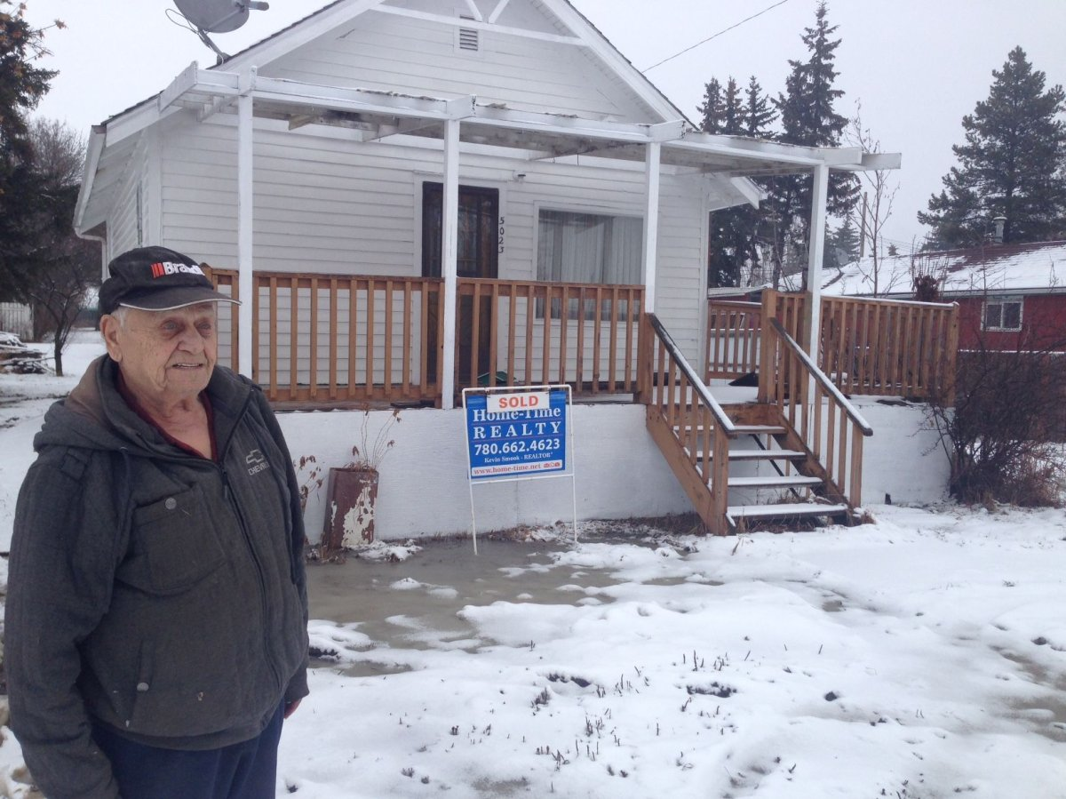 William Yarmovich says he's been forced to sell his home after receiving a $4000 bill from the Village of Ryley.
