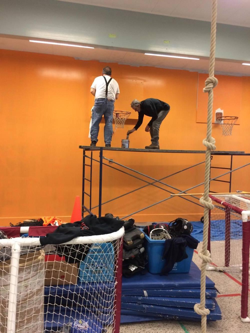 CCQ halts volunteer painting project at Saint-Sebastien school - image