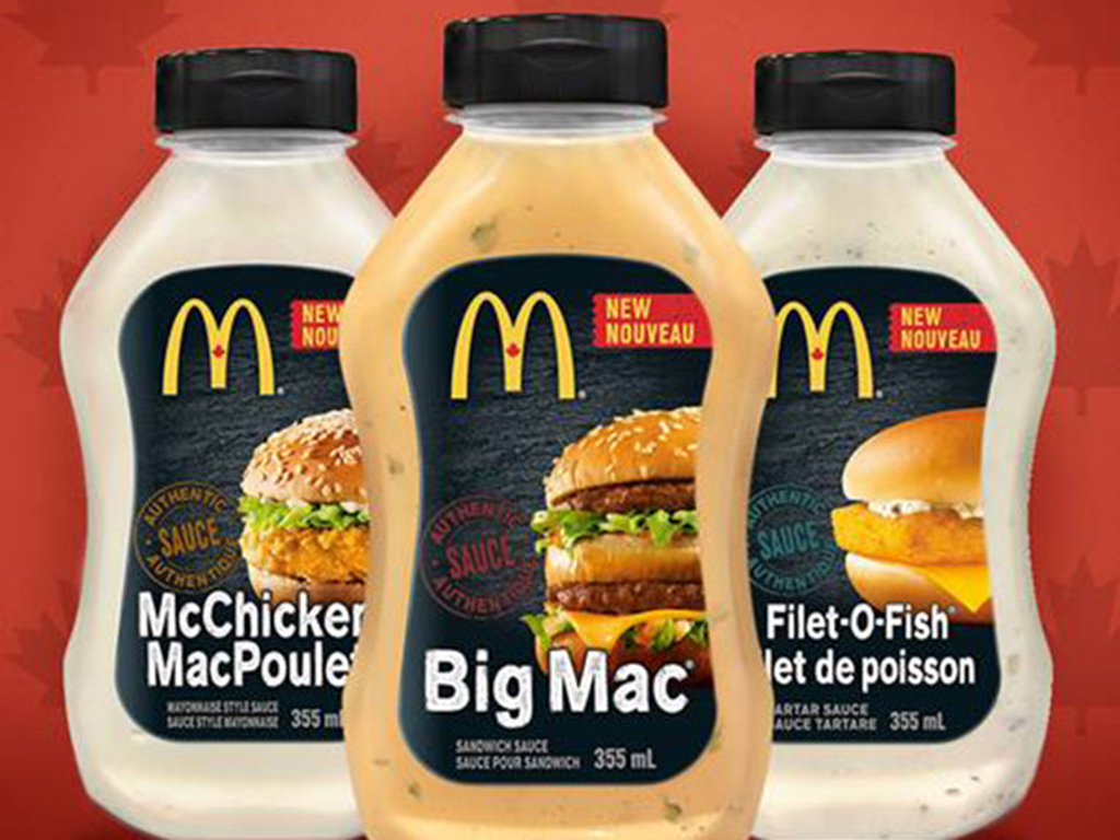 Start your barbecues. This spring, you can take home Big Mac, Filet-O-Fish and McChicken sauces along with your weekly groceries.