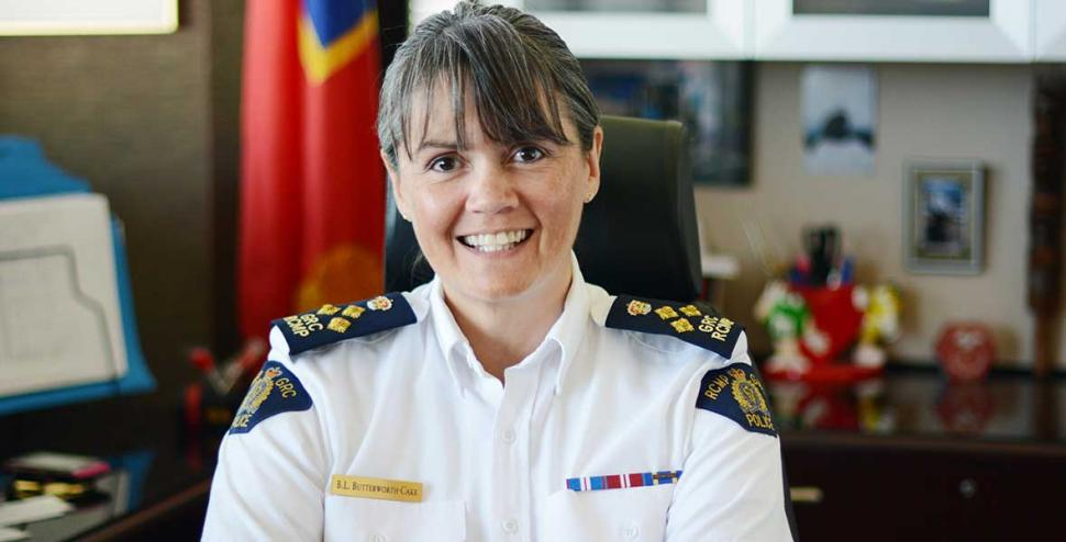 Brenda Butterworth-Carr is the new leader of the BC RCMP.