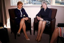 Continue reading: Daily Mail slammed for sexist 'legs-it' joke after Theresa May, Nicola Sturgeon meet