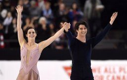 Continue reading: Tessa Virtue and Scott Moir come out on top during final national appearance