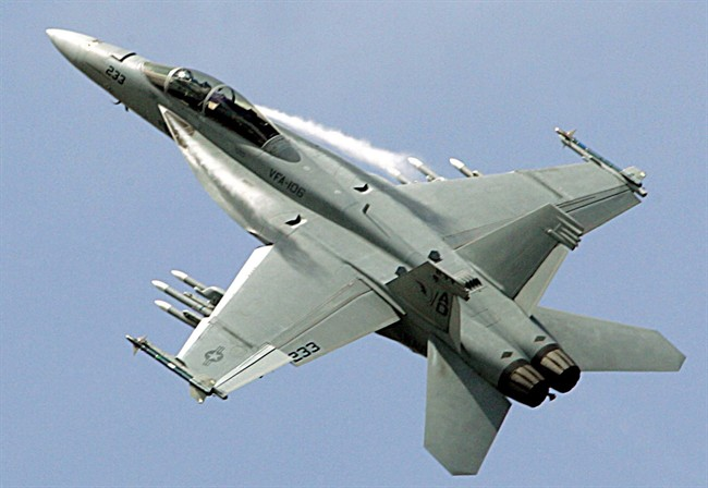 The Liberal government has taken the next step towards buying 18 Super Hornet fighter jets on an interim basis, a purchase it hopes to make official by year's end.