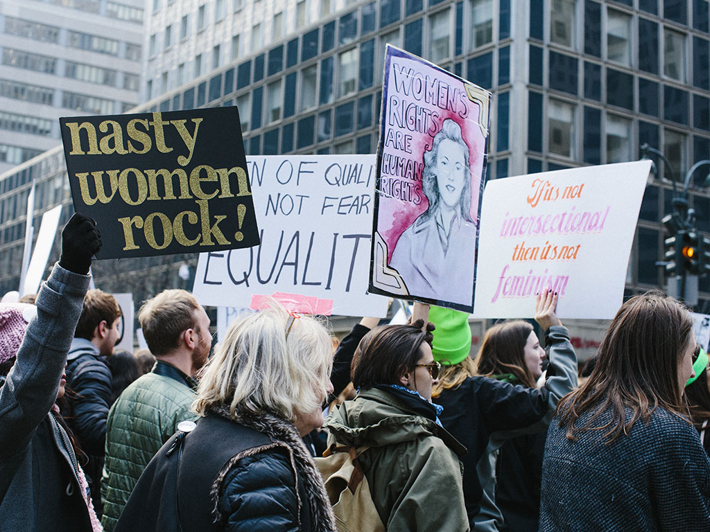 The feminist movement has evolved since its days of 'women's lib.' Now it encompasses every definition of woman.