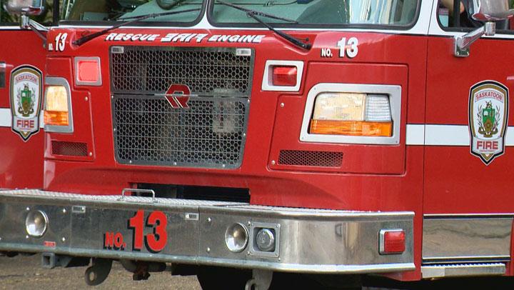 Members of the Saskatoon Fire Department extinguished a blaze involving a deep fryer on the University of Saskatchewan campus Wednesday.