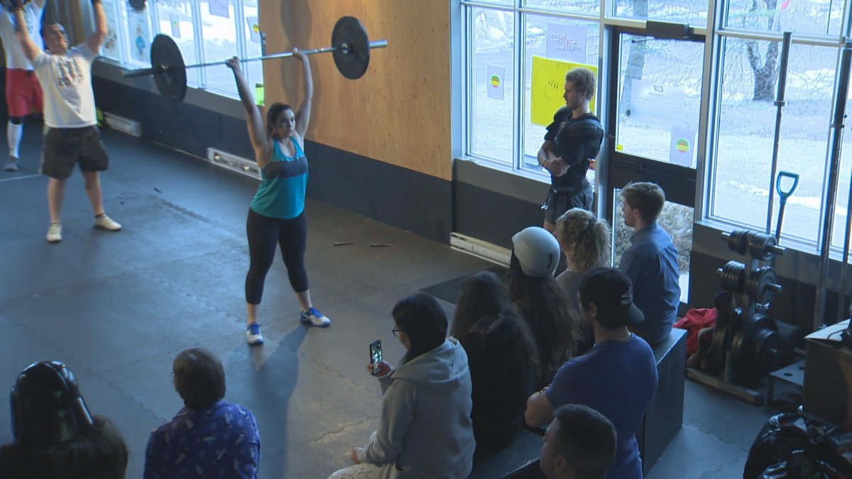 Members at Biometrics Performance Gym decided to use their annual competition as a way to encourage donations to local charities.