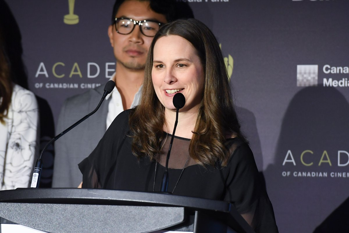 Beth Janson, CEO, Academy of Canadian Cinema & Television attends the 2017 Canadian Screen Awards Press Conference held at the Thornton-Smith Building on January 17, 2017 in Toronto, Canada.