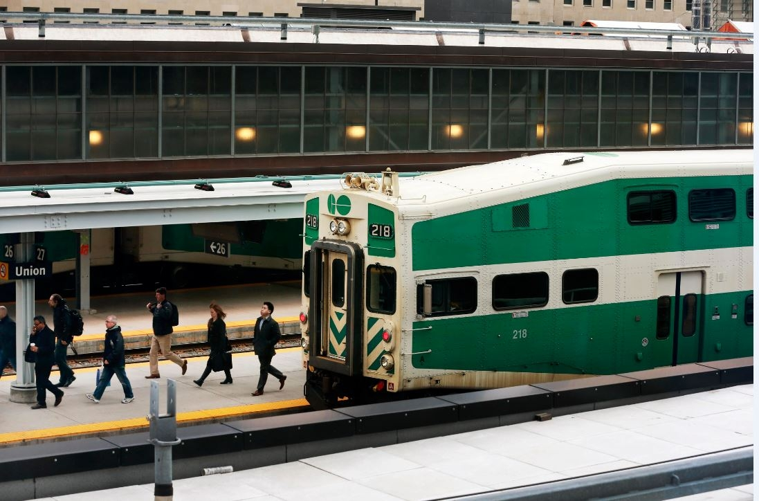 Metrolinx says a person has died after being struck by a train near Agincourt GO station on Dec. 3, 2018.