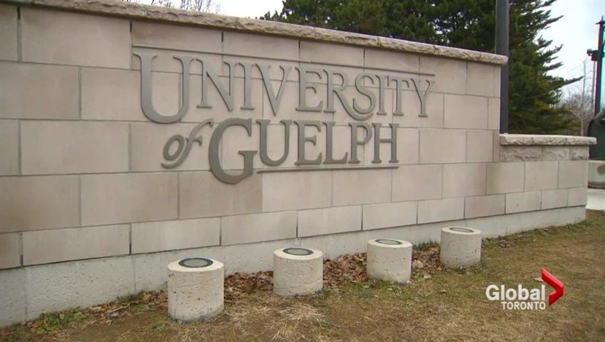 A small explosion was reported on the University of Guelph campus.