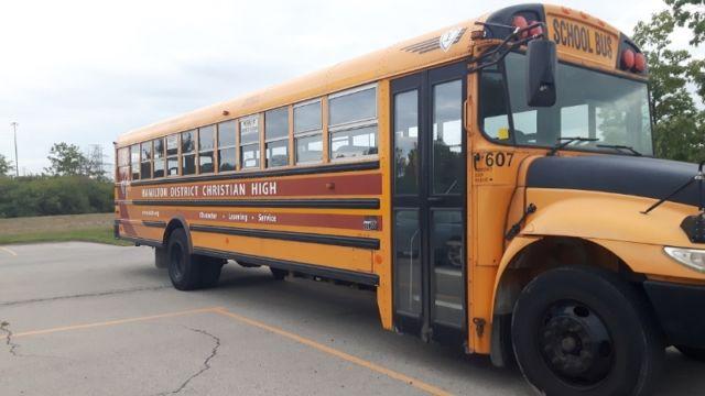 Similar school bus.