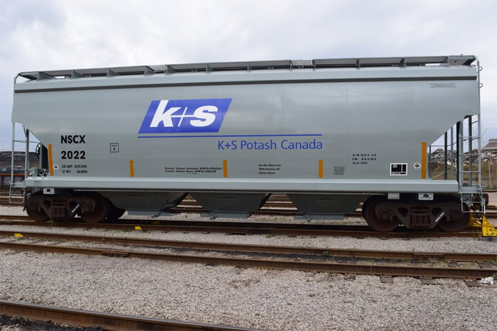With the delivery of custom built rail cars, K+S Potash Canada moves closer to starting production at the first new potash mine in Saskatchewan in over 40 years.