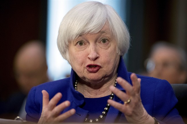 Federal Reserve Chair Janet Yellen is pictured in this Tuesday, Feb. 14, 2017, file photo.