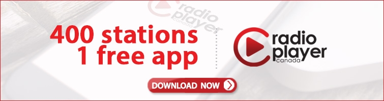 400 Stations, 1 free app. Radioplayer Canada - Download Now!