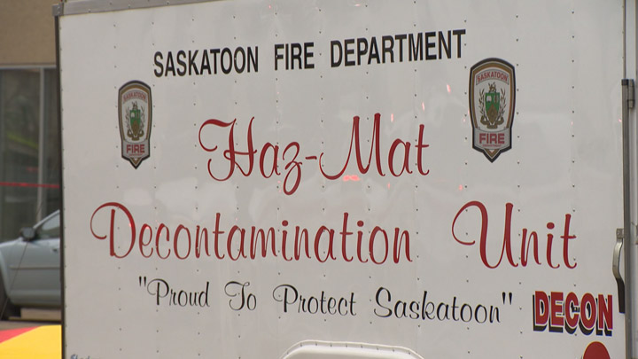 Saskatoon Fire Department Hazmat Unit.