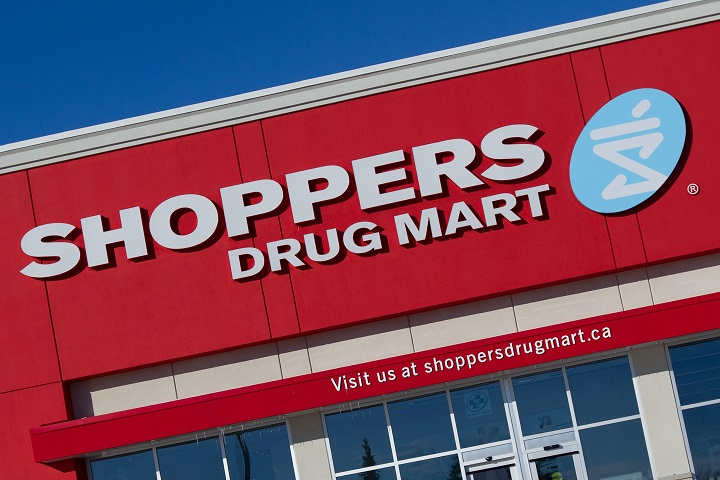 File photo of a Shoppers Drug Mart location.