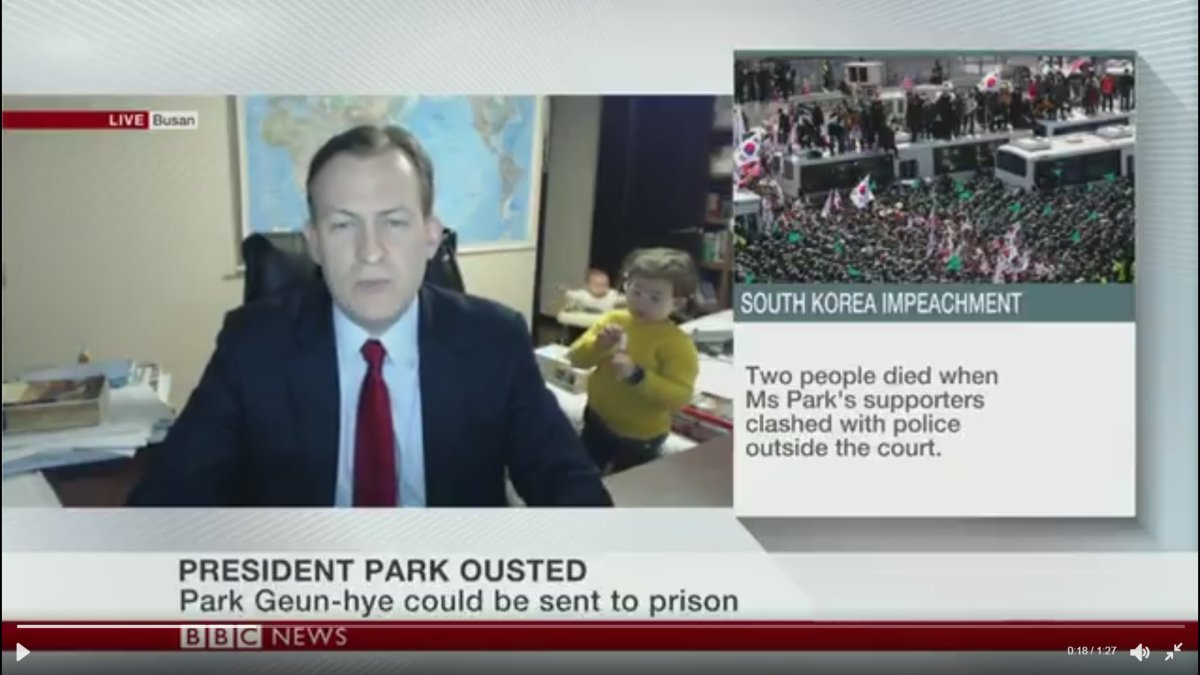 Children hilariously interrupt expert's live international TV news interview - image