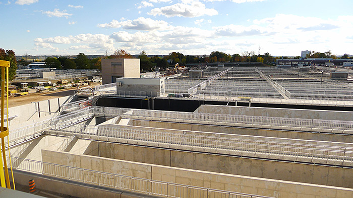 The Woodward Wastewater Treatment Plant in Hamilton, Ont.