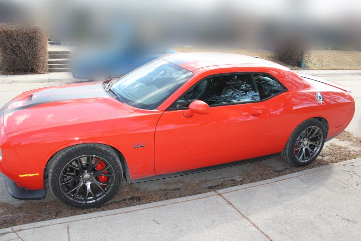 One of four stolen vehicles seized April 3, 2017 by Calgary police.