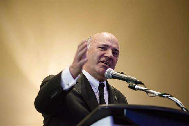 """Citing Ontario's status as an noncompetitive, money-losing province, O'Leary said ousting Premier Kathleen Wynne is """"ultimately the most important thing.""""."""