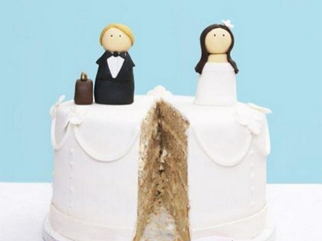 Divorce parties have gone to the next level with divorce cakes — imaginative and hilarious creations that celebrate the end of a union.