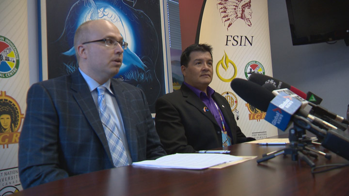 Elbow mayor apologizes for the way he thought about indigenous people in the past as town, FSIN sign reconciliation pledge.