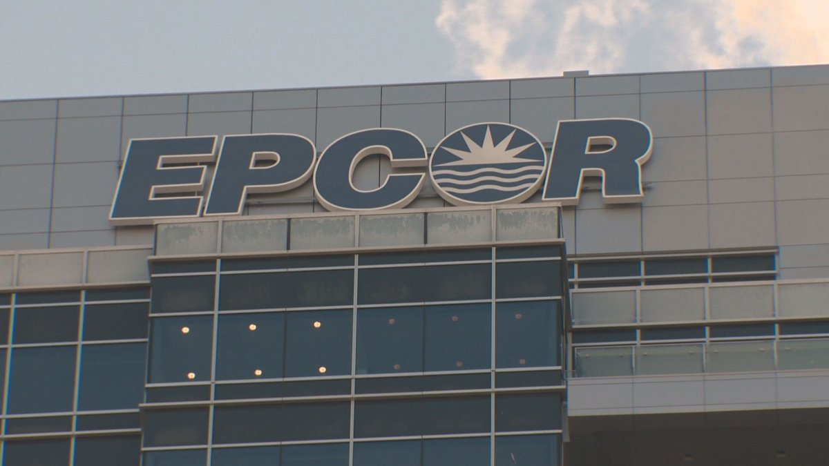 FILE - EPCOR's building in downtown Edmonton.