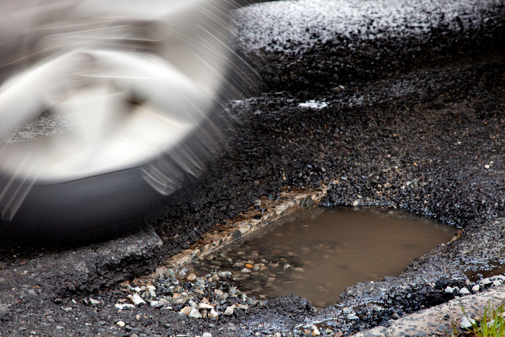 The City of Winnipeg says it hasn't seen a significant drop in potholes during COVID-19, but there has been fewer reports.