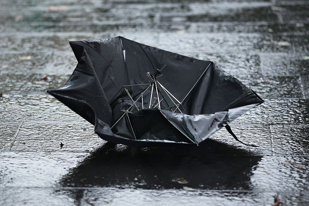 Environment Canada issues rainfall and wind warnings for southern Quebec. Monday, April 13, 2020.