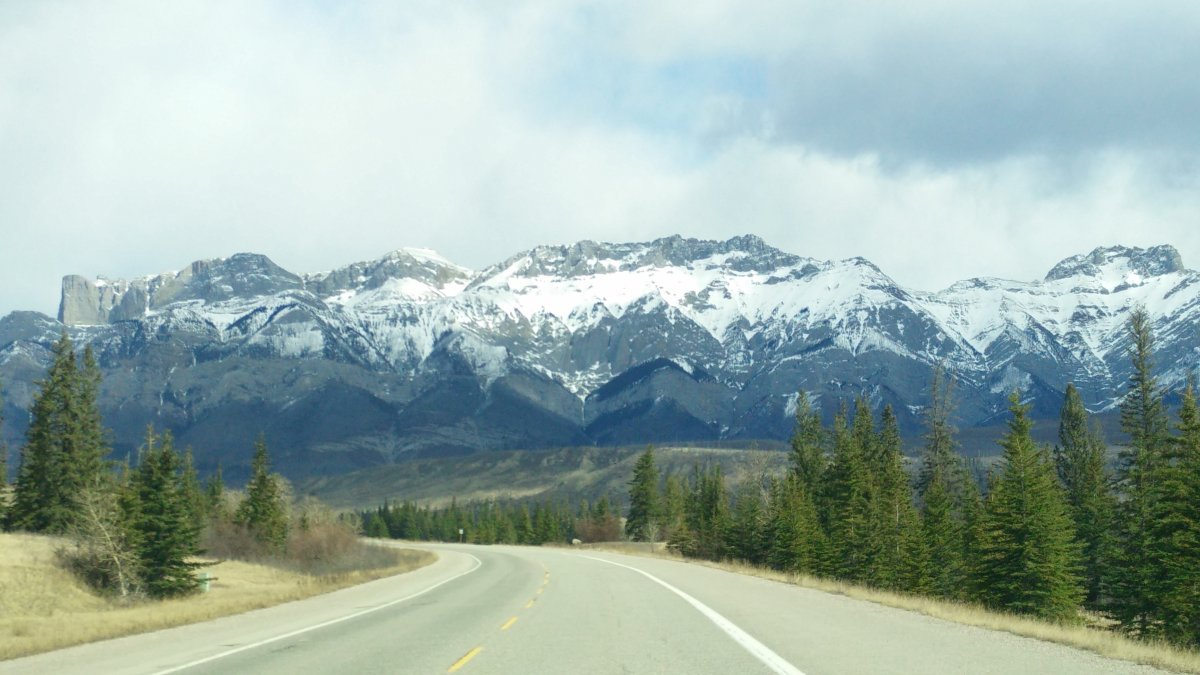 Jasper National Park on April 2, 2017.