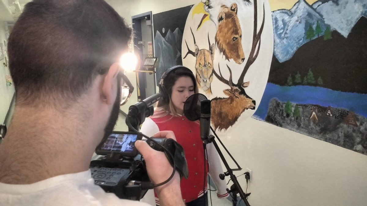 First Nations students from remote B.C. community find voice through music - image