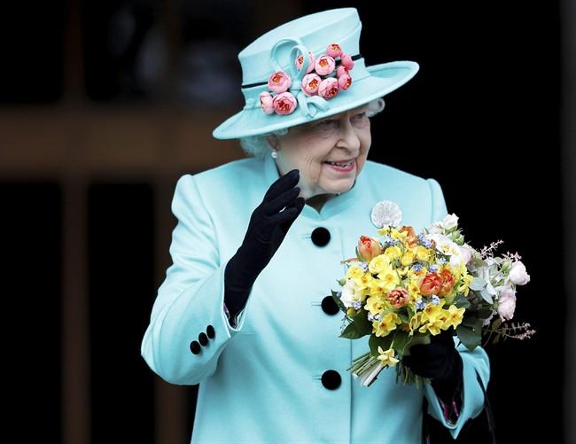 Britain's Queen Elizabeth celebrates her 91st birthday, April 21, 2017.