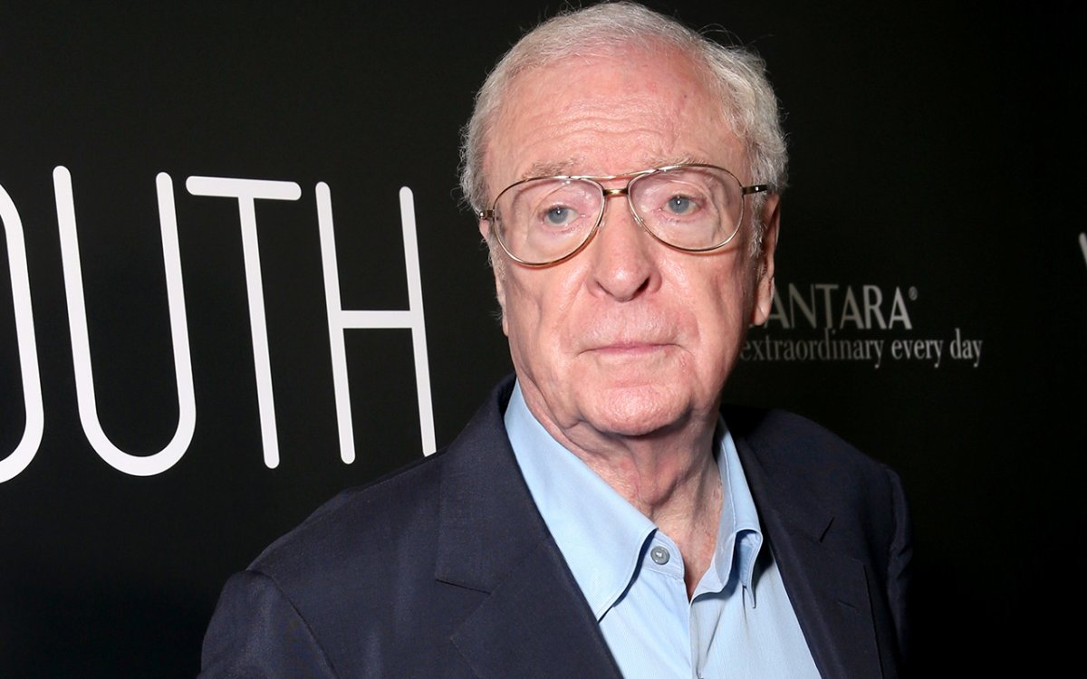 """Actor Michael Caine arrives at the Los Angeles Premiere of Fox Searchlight's """"Youth"""" at the Directors Guild Theatre on November 17, 2015 in Los Angeles, California."""