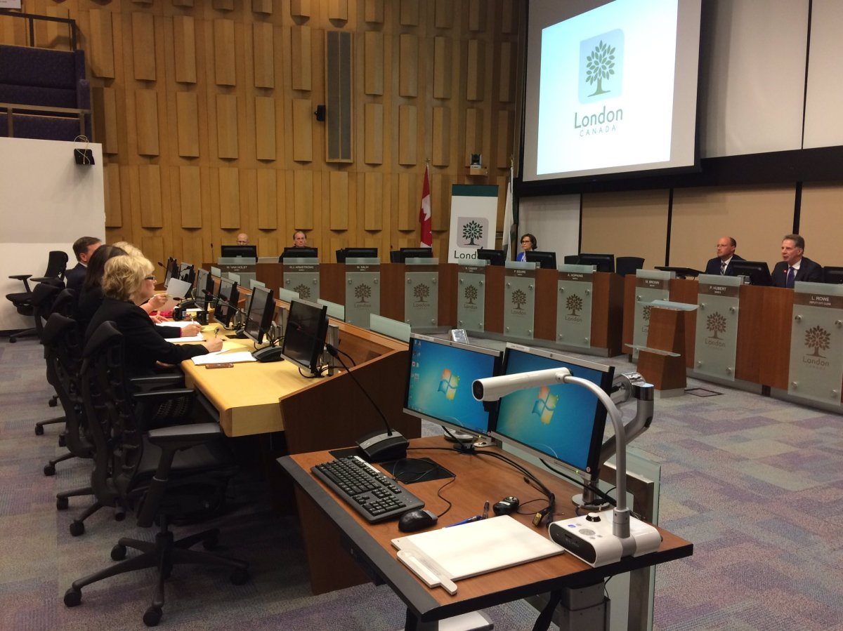 City councillors and local MPPs discuss bus rapid transit, high speed rail and affordable housing at City Hall on April 19, 2017.