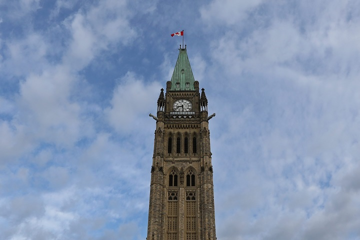Peace tower on the Parliament Hill building in Ottawa, Ont., on Sept. 22, 2016.