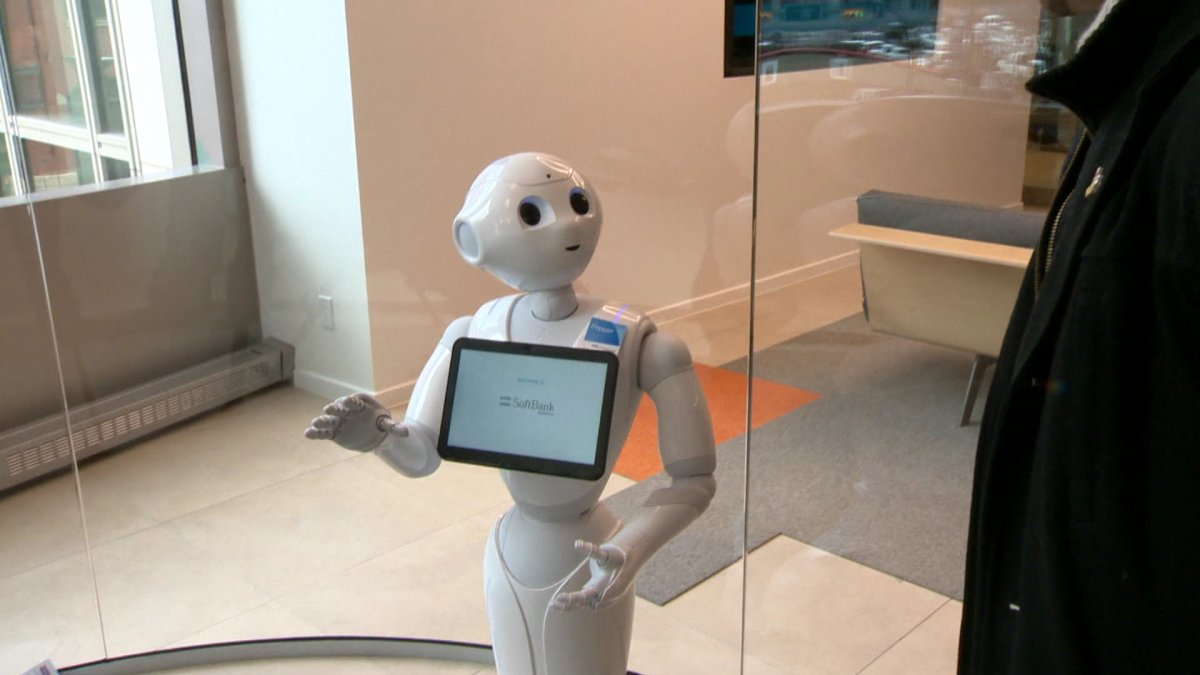 Pepper robots will be assisting customers in select ATB branches beginning May.