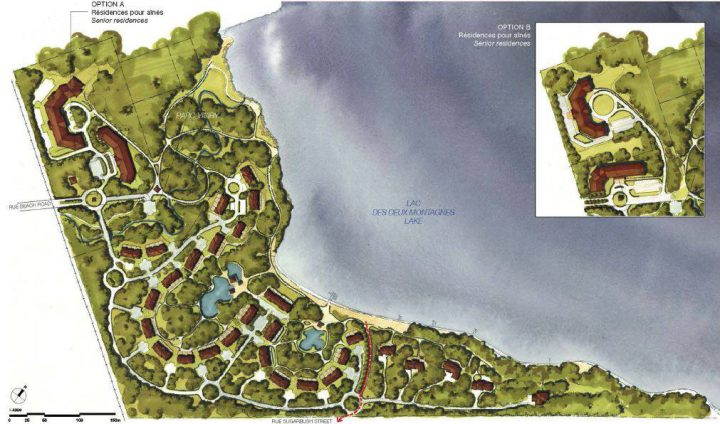The Pine Beach project would include more than 300 residential units.