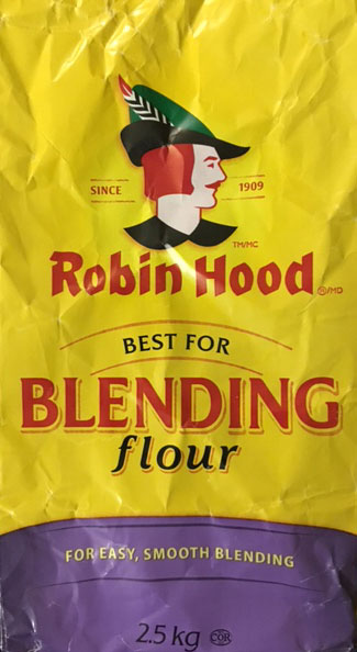 """Various sizes of Robin Hood """"Best for Blending"""" flour are now among a number of products that have been subject to a food recall warning by the Canadian Food Inspection Agency (CFIA)."""