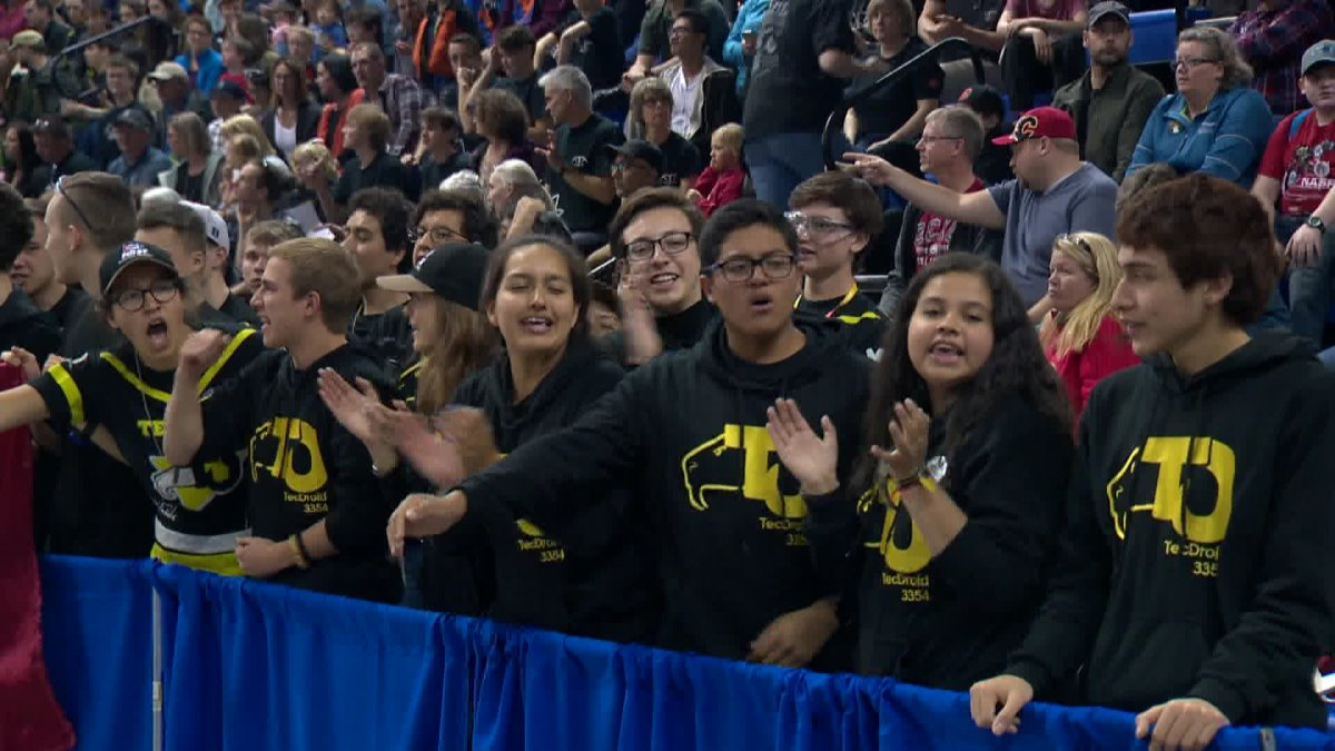 Hundreds of Calgarians take in western Canada robotics competition - image