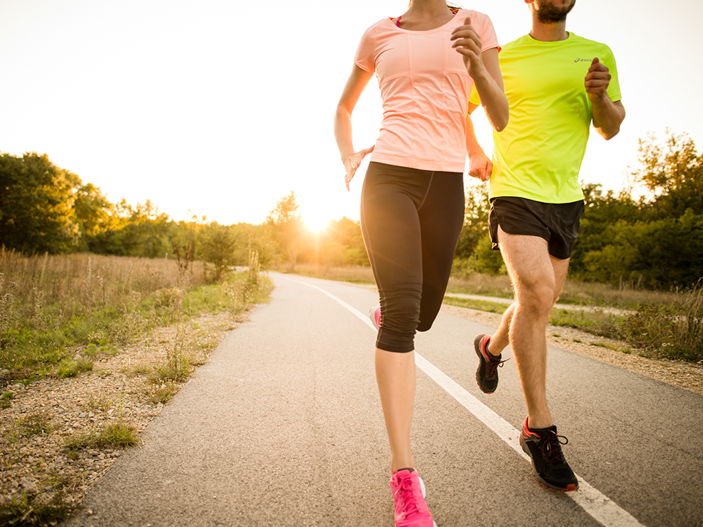 If you've found yourself covering more territory on your runs, it's probably due to peer influence.
