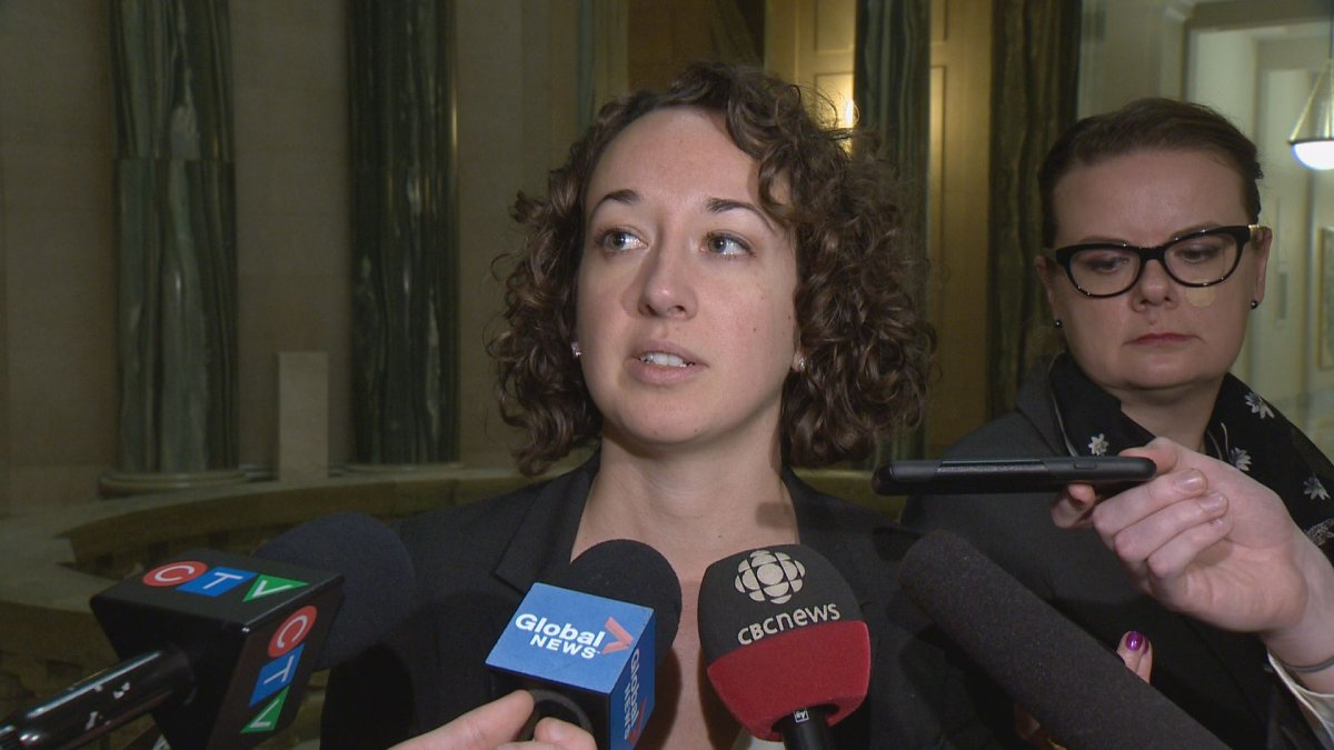 Nicole Sarauer has been elected Leader of the Official Opposition and Interim Leader of the Saskatchewan NDP. She is the first woman to lead the party.