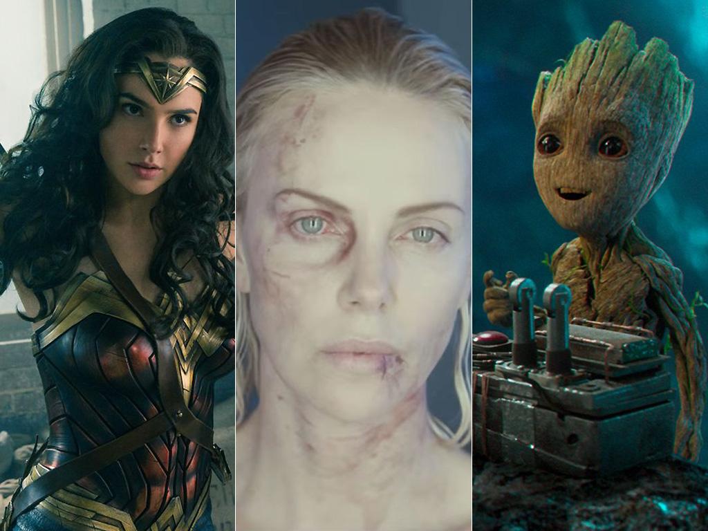 Wonder Woman, Atomic Blonde, Guardians of the Galaxy 2