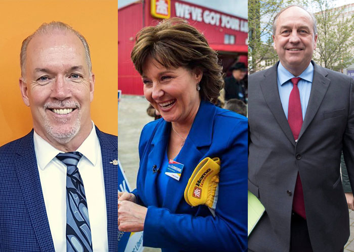 B.C. Election: Liberals and NDP in tight race according to new Ipsos poll - image