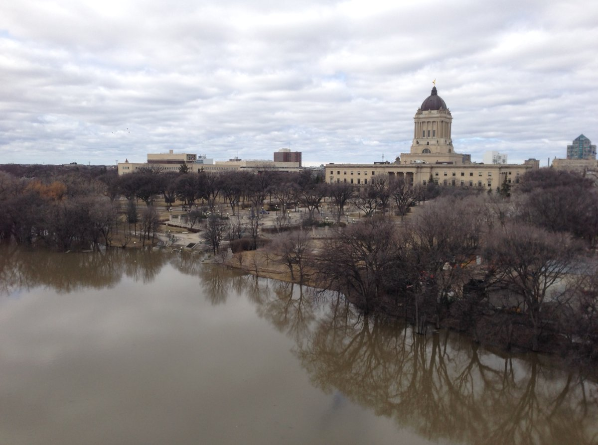 City officials are watching river levels as part of spring flood preparations.
