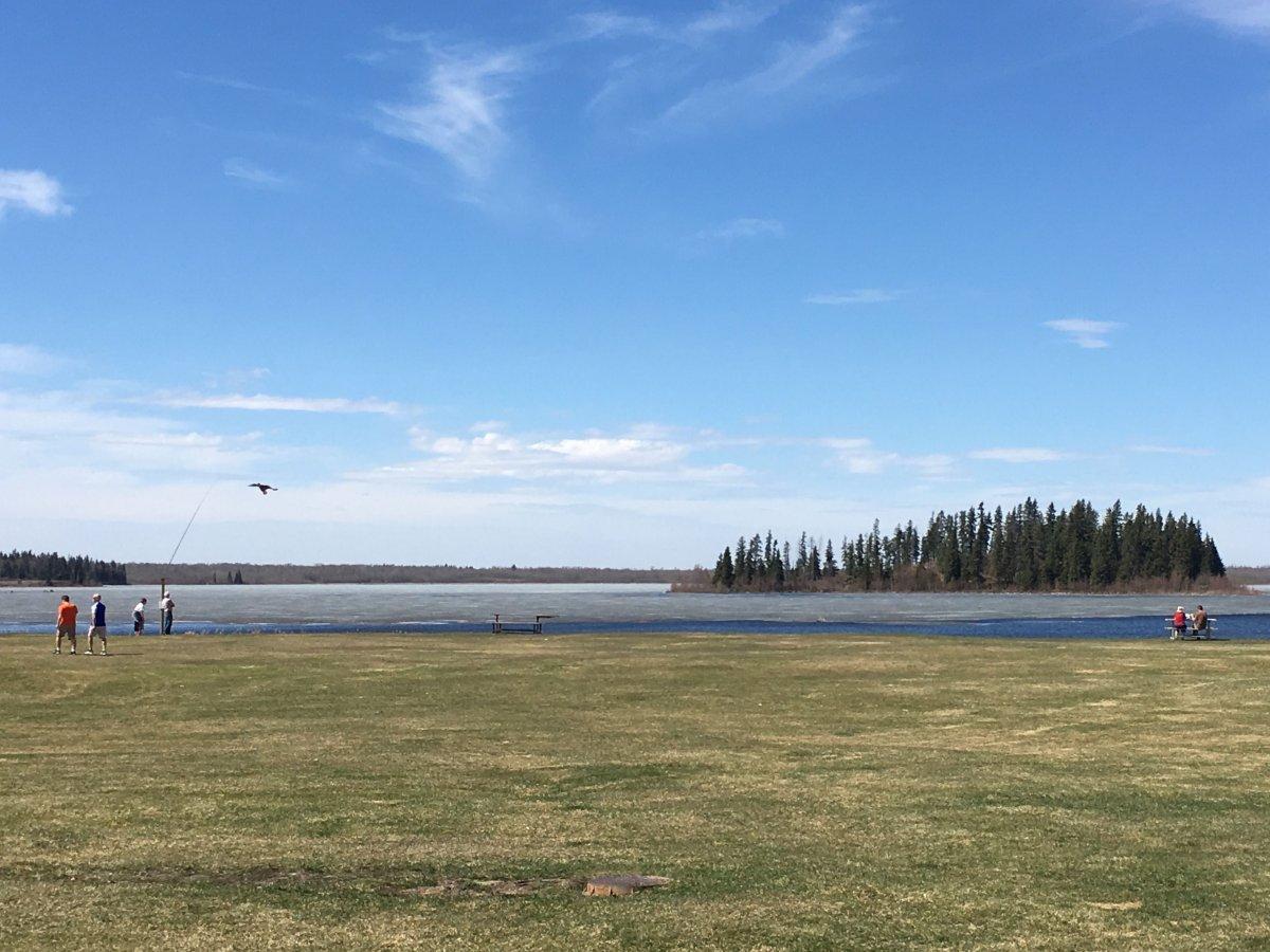 FILE: Elk Island National Park on May 5, 2017.