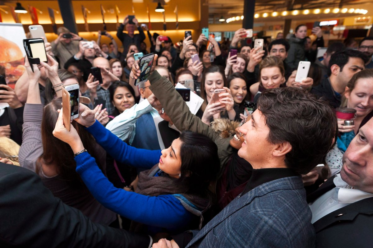 A recent Global News/Ipsos poll suggests the strength of Prime Minister Justin Trudeau's massive social media following may not translate to votes.