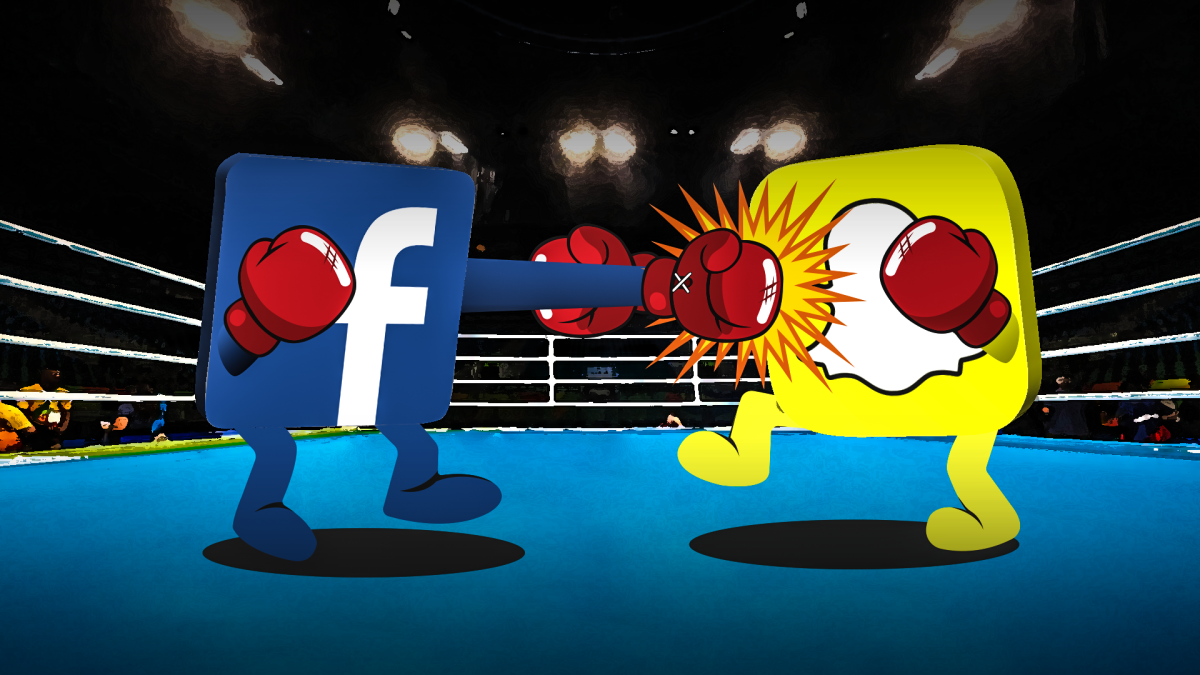 Facebook's latest moves could have Snapchat on the ropes - image