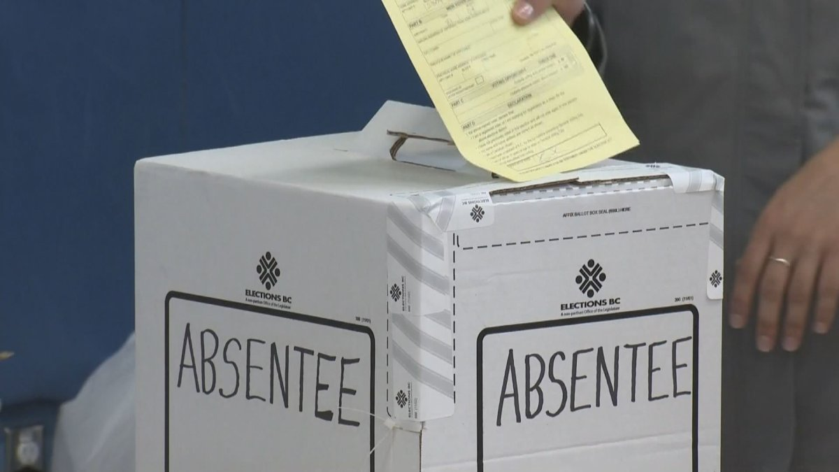 FILE PHOTO: The latest ballot count shows the Liberal candidate taking the lead in a tightly contested British Columbia riding that could determine the outcome of the province's election.