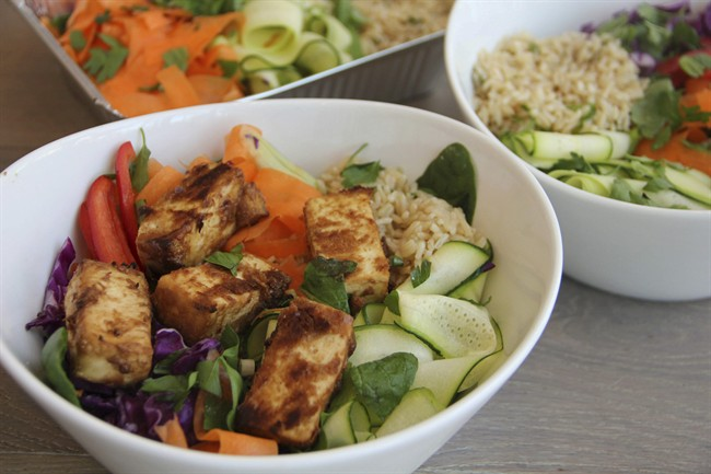Many Canadians are thinking about replacing some of the meat in their meals with vegetarian alternatives like tofu.