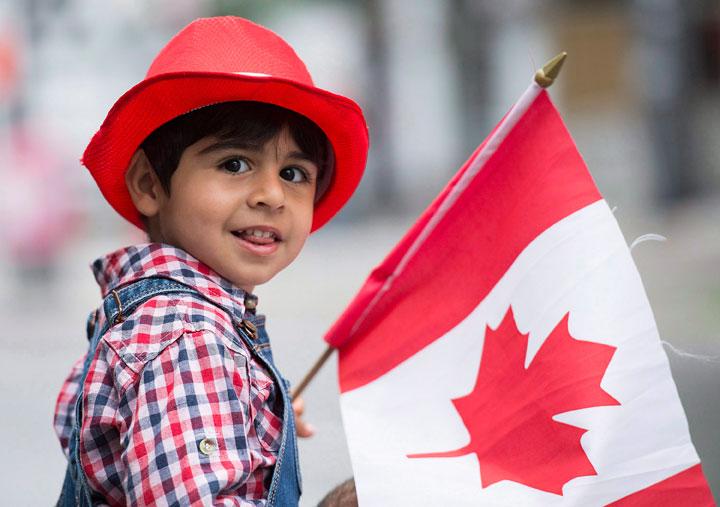 Canada Day parade Montreal