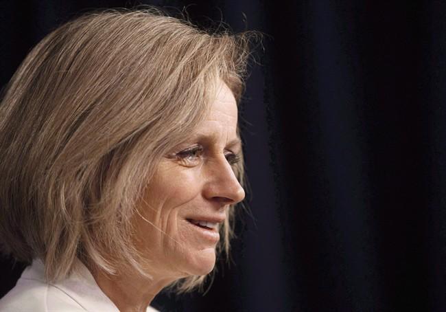 Alberta Premier Rachel Notley in Edmonton Alta, on Wednesday, December 14, 2016.